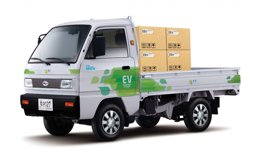 Power Plaza, the provider of the electric truck called Peace, announced on August 6 that the provincial government included the electric truck in its electric vehicle competition for Jeju residents and corporations. (image: Power Plaza)