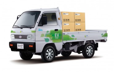 First Electric Pick-up Truck to Run in Jeju
