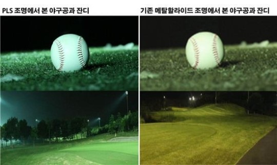 LG Electronics to show Plasma Lighting System in a Ballpark