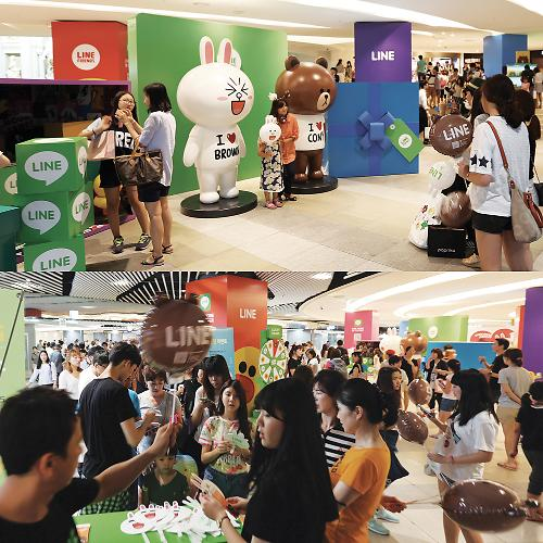 Line Friends Pop-Up Store Opens Up in Jamsil after Successful Myeong-dong Store
