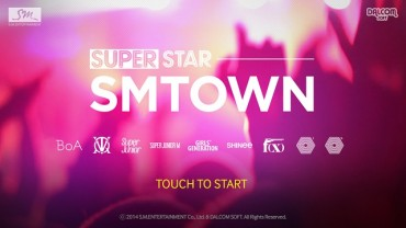 SM Entertainment Launchs Mobile Rhythm Game, SuperStar SMTown