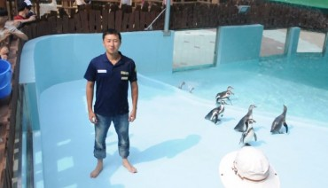 Zoos and Aquariums in Korea Take on the Ice Bucket Challenge