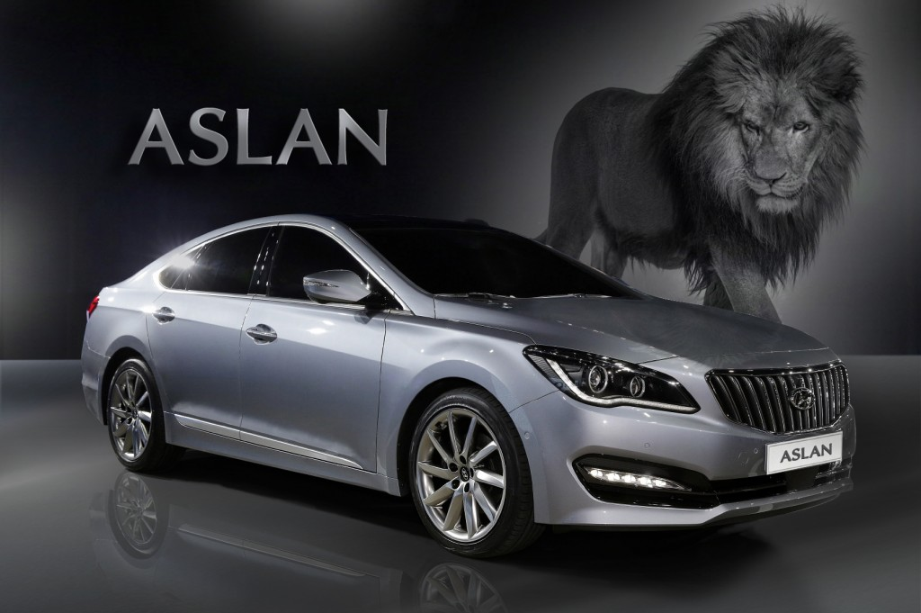 One can feel the car's imposing figure and splendor from a far and will immediately associate the image of a gallant mane-waving lion. (image: Hyundai Motor)