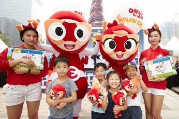 "SK Energy Takes Part in Energy Day Event with Characters ""Enk"" and ""Lynn"""