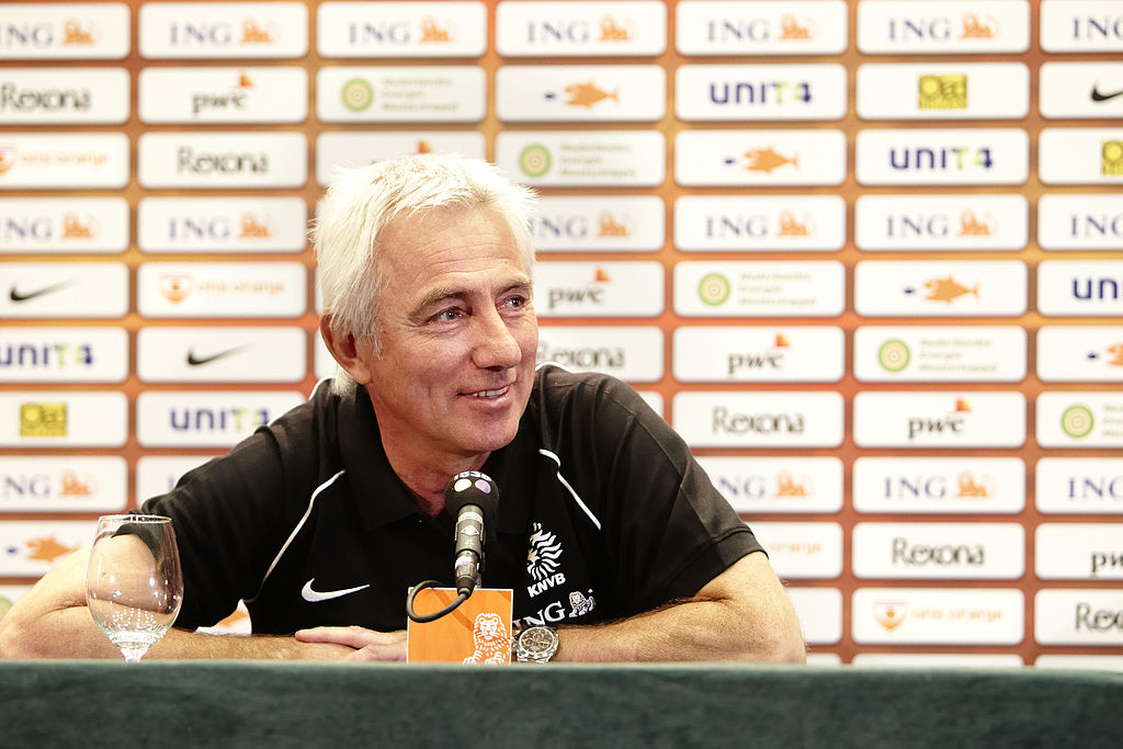 If Van Marwijk takes the helm, he will be the fifth Dutch manager who will coach for the Korean national team, after Guus Hiddink in 2002, Jo Bonfrere in 2004, Dick Advocaat in 2005 and Pim Verbeek in 2006. (image: ING Nederland/ Wikimedia Commons)