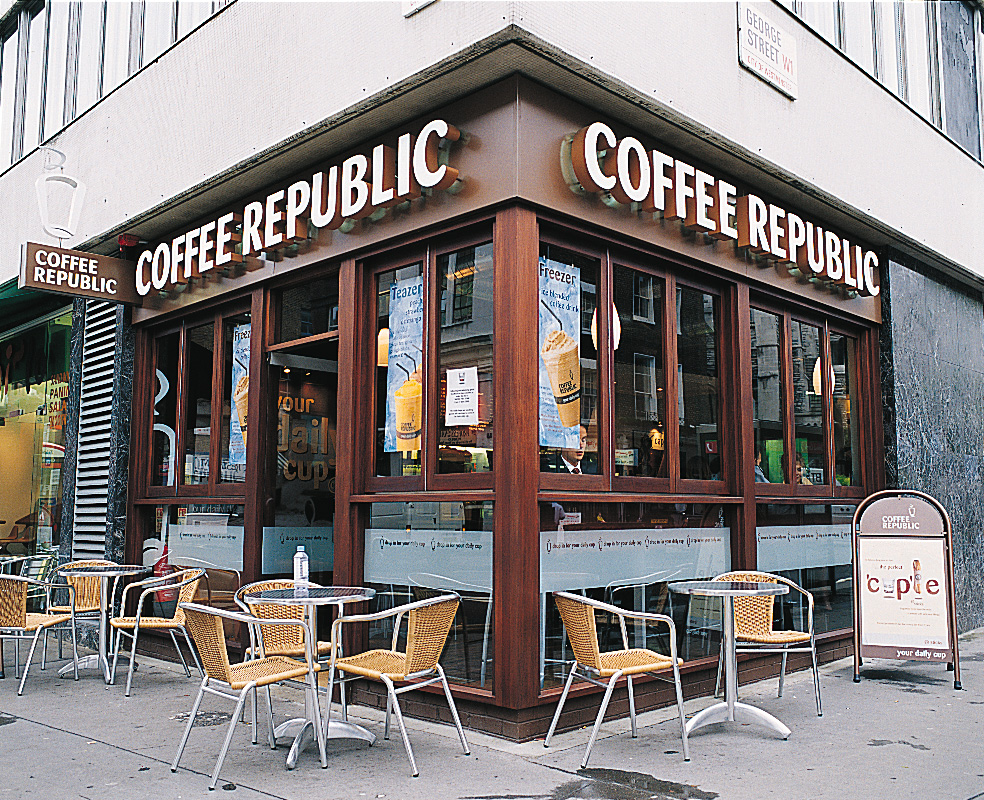 South Koreans are really into coffee. (image: Wikimedia Commons)
