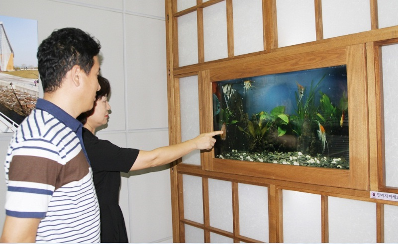 "The world's first ""IT Aquarium""  (image: Incheon Transportation Corporation)"