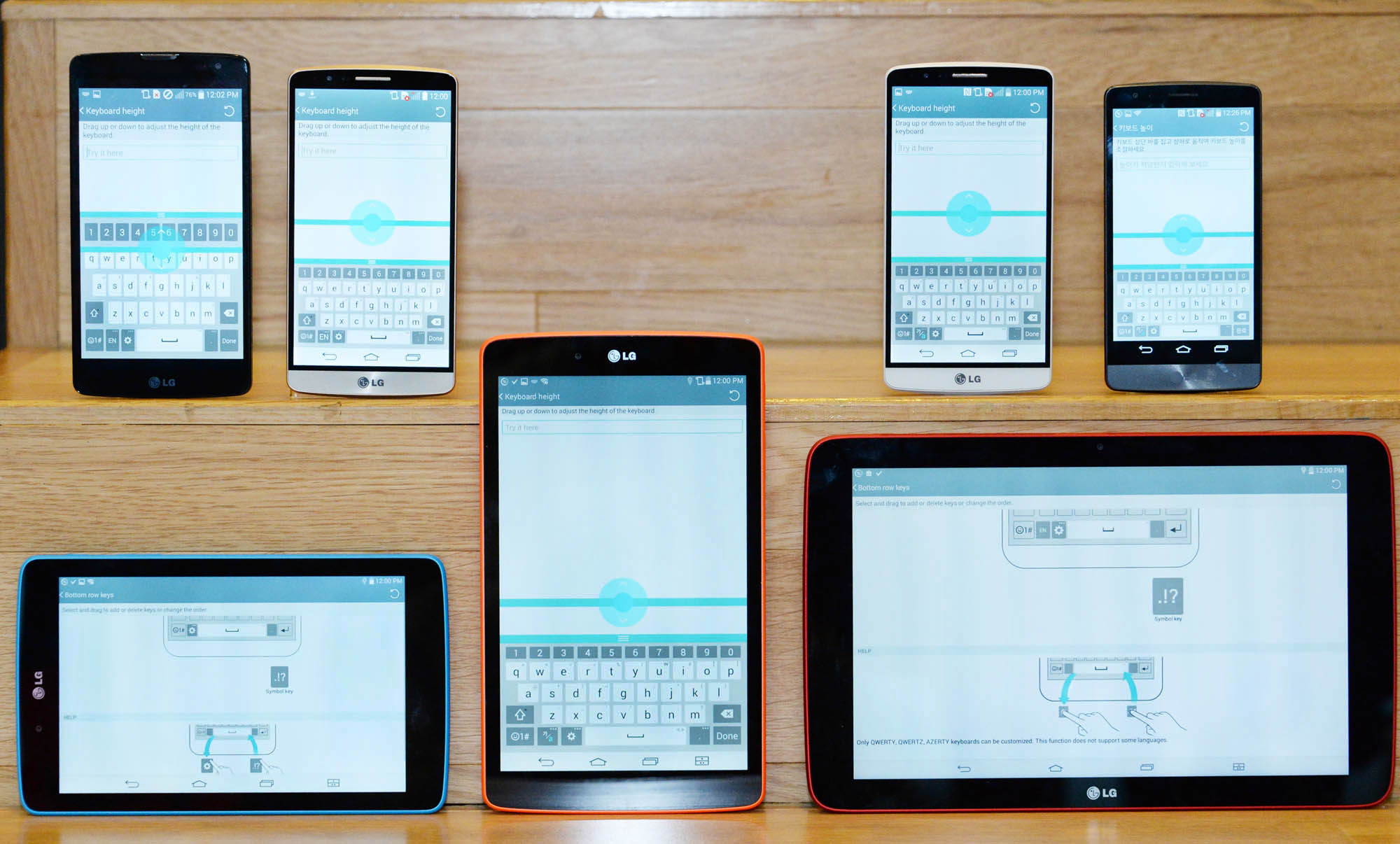 LG Electronics will begin standardizing its proprietary UX features across most of the company's mid- to entry-level smartphones and tablets launched in the second half of this year. (image credit: LG Electronics)