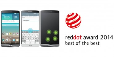 LG Recognized at 2014 Red Dot Awards for Intuitive User Experience
