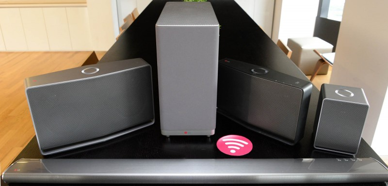 """Experience """"Flowing Sound"""" with Smart Hi-Fi Audio Wireless Multi-Room Solution From LG"""