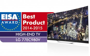 LG OLED TV Honored for Third Consecutive Year at Europe's EISA Awards