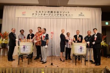 Hilton Okinawa Chatan Resort Celebrates Grand Opening