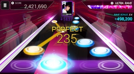 sm entertainment launchs mobile rhythm game superstar smtown be