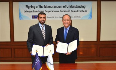 Korea Eximbank to Increase Overseas Investment Together with Dubai's ICD