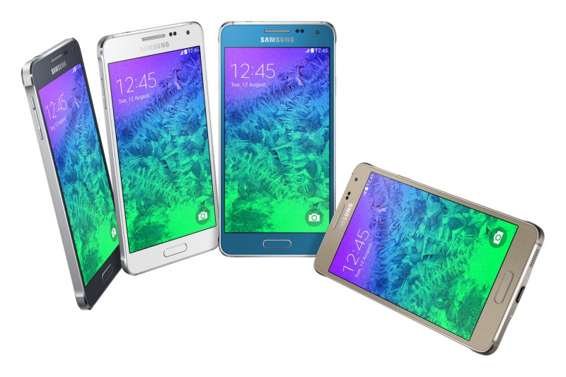 Samsung Introduces Galaxy Alpha, the evolution of Galaxy Design