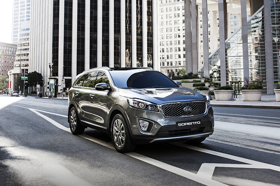 The full-make up model of Sorento, a flagship SUV model of Kia, transformed to a premium SUV with high safety and driving performances and at the same time the largest volume among its peer class. (image: Kia Motors)