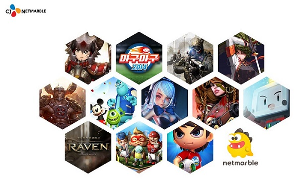 The company is optimistic about the future as its mobile games including 'Taming Monsters' and 'Modoo Marble' have gained huge popularity in the Chinese and Thai game markets.(image: CJ Netmarble)