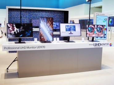 [Photo] Samsung's UHD Monitor Obtains Prestigious Performance Certificates