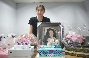 Yuna Kim Fan Club Gives 11 Mil. Won to a Domestic Charity