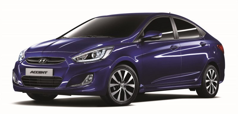 """Hyundai Motor Rolls Out Upgraded """"Accent 2015″"""