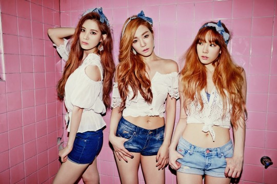 TTS, Unit Group of Girls' Generation, Took First Place in iTunes Charts around the World