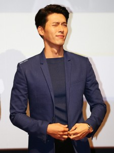 "Hyun Bin, a Korean heartthrob starring in many popular dramas including ""My name is Kim Sam-soon"" and ""Secret Garden,"" received a special birthday present. (image: World Share)"