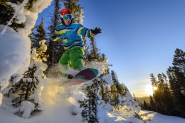 [Photo] Angel Fire Resort to Expand Winter Terrain Parks