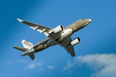 Bombardier CSeries Aircraft Back in the Air