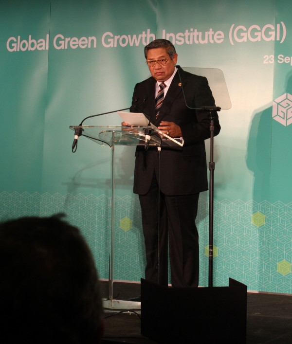 President Susilo Bambang Yudhoyono will be the new President of the GGGI Assembly and Chair of the Council. (image credit: Global Green Growth Institute)