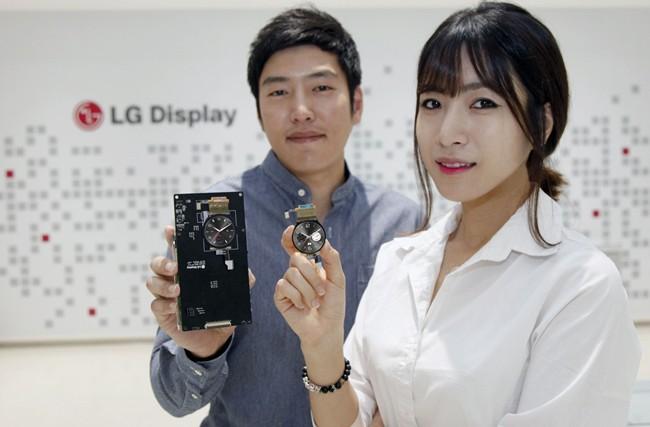 LG Display Starts Mass Production of World's First Circular Plastic OLED Display