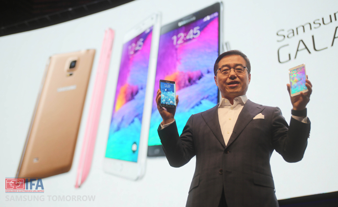 Samsung Introduces the Latest in its Iconic Note Series – The Galaxy Note 4, and Showcases Next Generation Display with Galaxy Note Edge