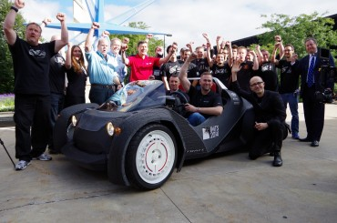 World's First 3D-Printed Car Takes Inaugural Drive