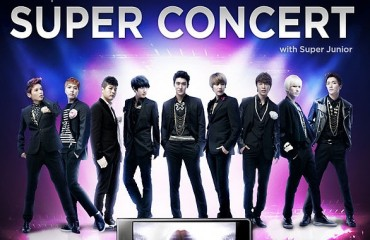 Super Junior Sets a Milestone with 100 World Tour Concerts