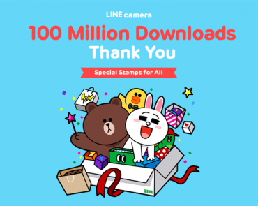 LINE camera Surpasses 100 Million Global Downloads