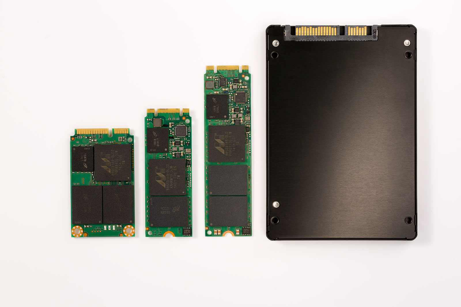 The M600 SATA SSD, specifically designed to take advantage of Micron's leading-edge NAND Flash technology, addresses the storage demands of modern mobile computing applications. (image credit: Micron Technology)