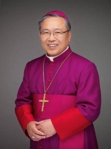 Cardinal Andrew Yeom Soo-jung, archbishop of Seoul