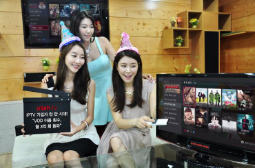 KT's Olleh TV Passes Record-setting 300 Million Monthly Viewership
