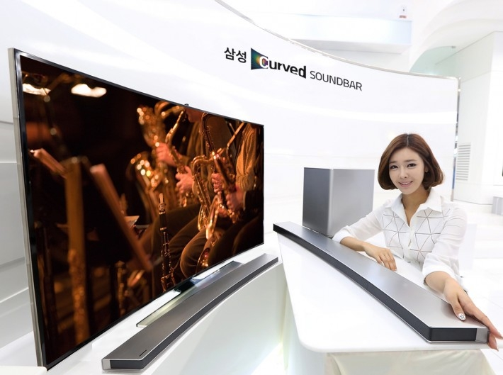 Samsung Curved Soundbar, Perfect Match for Samsung Curbed