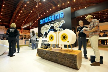 Samsung SDI Showcases High-tech Construction Materials in London 100% Design