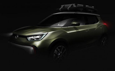 [Photo] Ssangyong Motor Unveils Rendering Image for Its New XIV Series