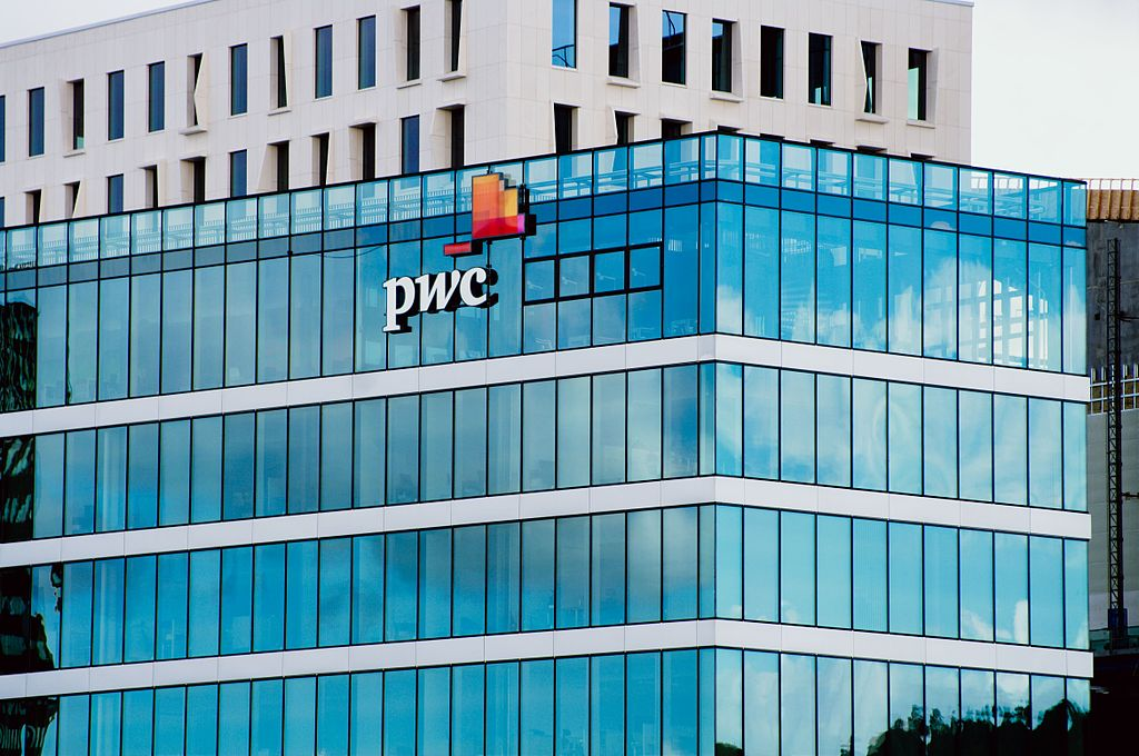 PwC reported total global gross revenues of US$34 billion for the fiscal year ended on 30 June 2014. (image: wikimedia)