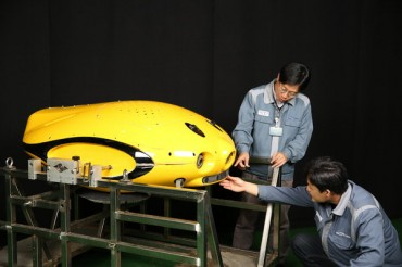 Samsung Heavy Industries Develops Underwater Hull Cleaning Robot