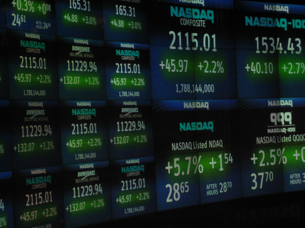 Nasdaq now supplies futures data to Interactive Data's product line through Nasdaq Futures, Inc. (NFX). (image: Luis Villa del Campo / flickr)