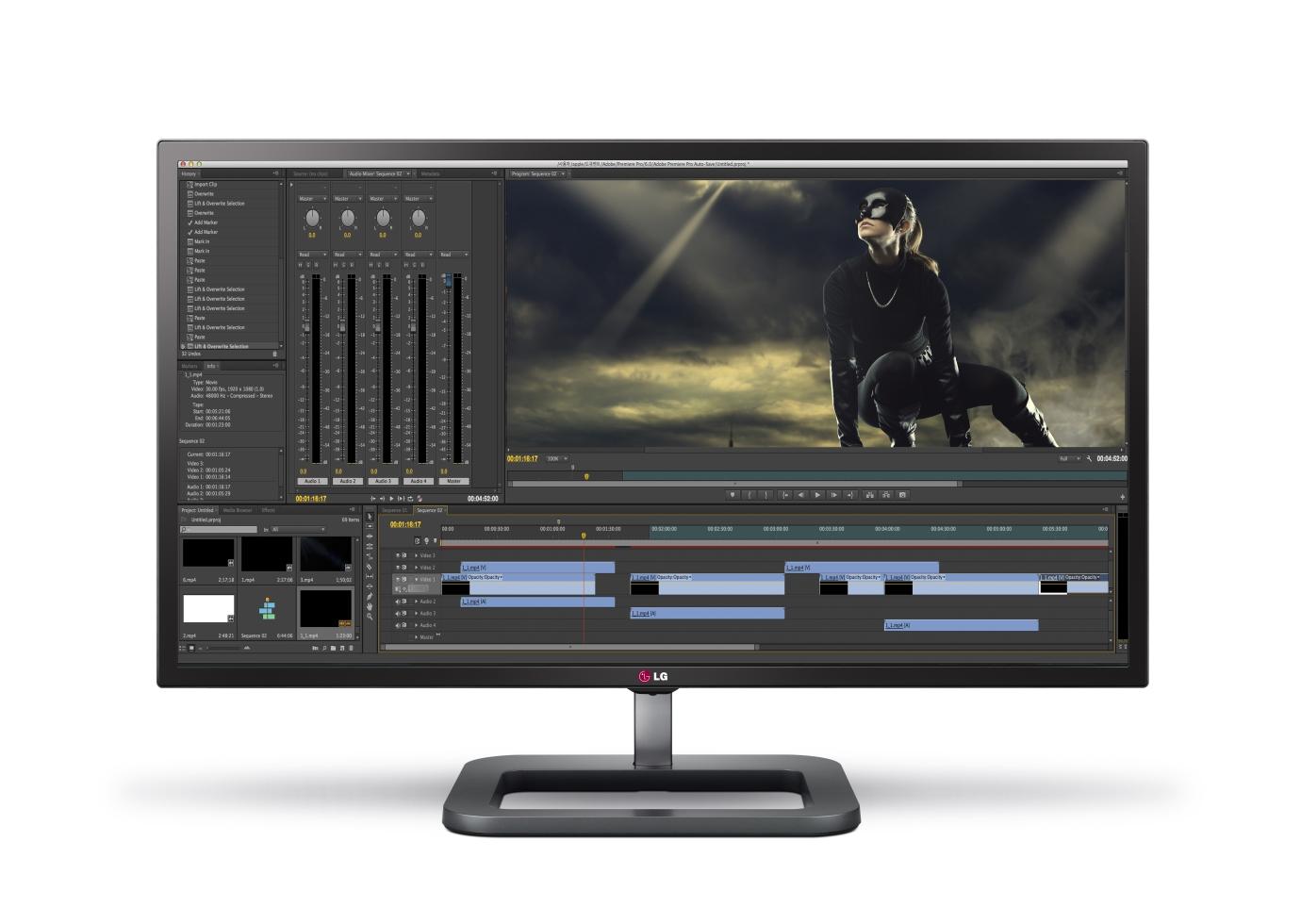Introducing LG's Digital Cinema 4K Monitor, the Ultimate Display