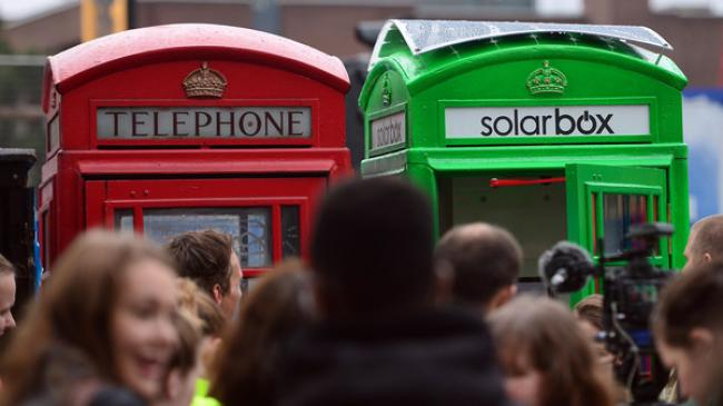 Public Phone Booths Gain Their Second Life
