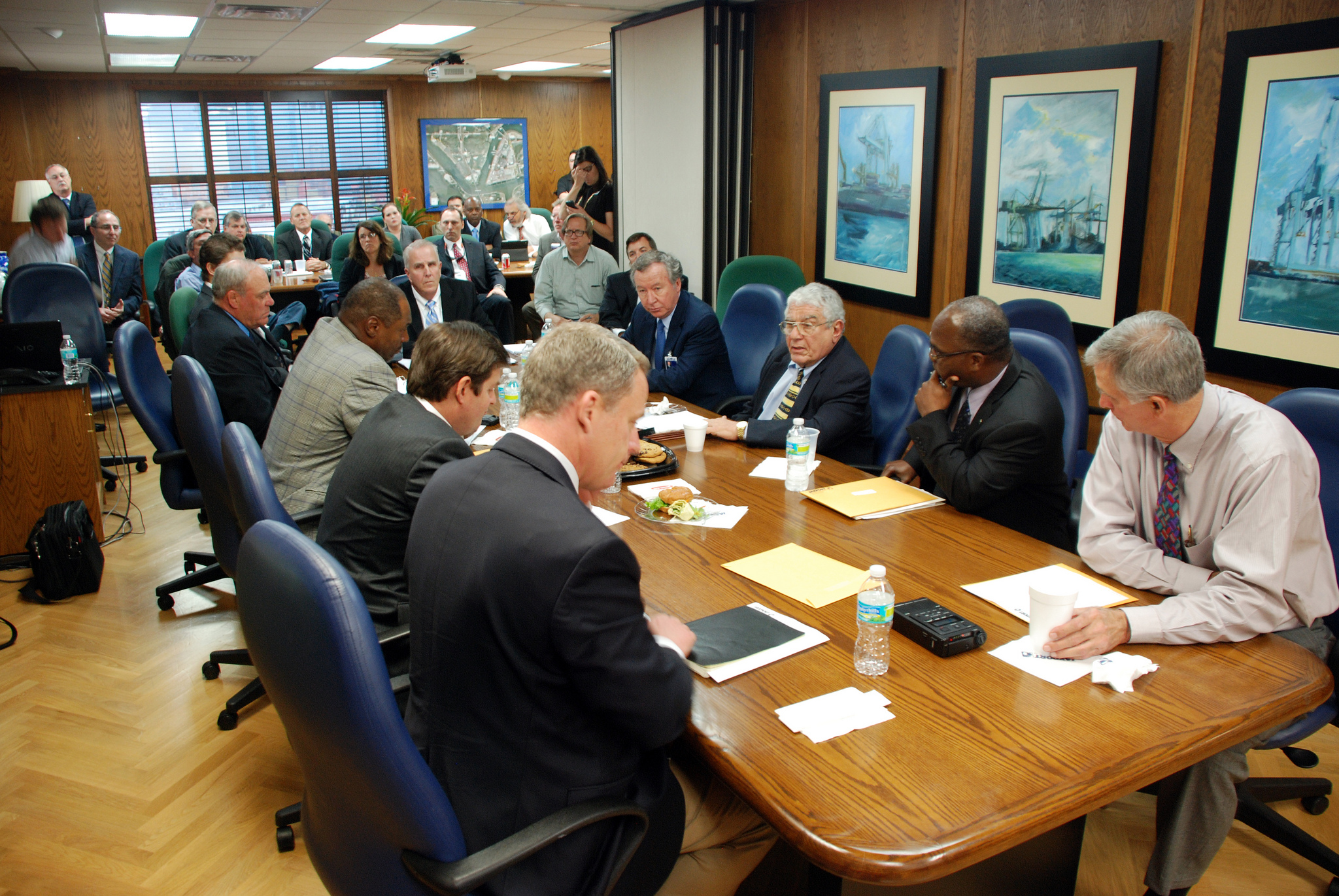 The report emphasizes that corporate directors should not limit their engagement in strategy development to annual discussions with management or crisis situations. (image: JAXPORT / flickr)