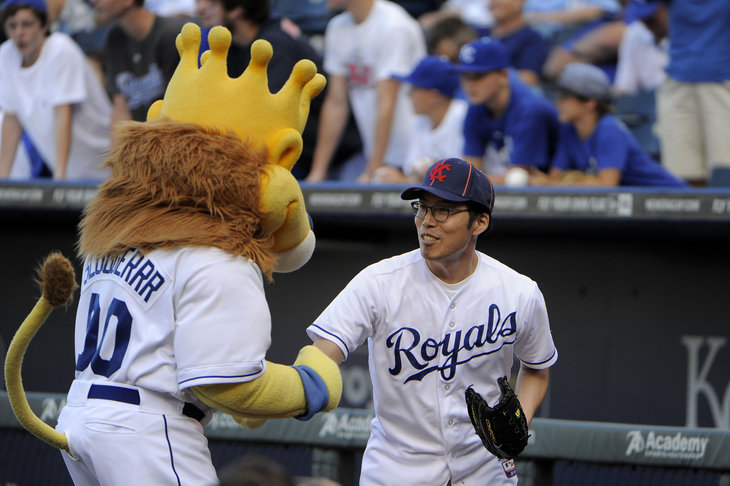 "Sung-woo Lee returns to Kansas City to make his ""good luck charm"" (image: royalsreview.com/Creative Commons)"