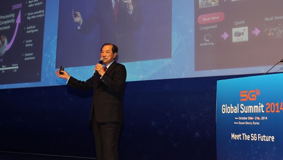 """In the 5G Era, """"Me-centric"""" Concepts Will Be Predominant … 2014 ITU conference Keynote Speech"""