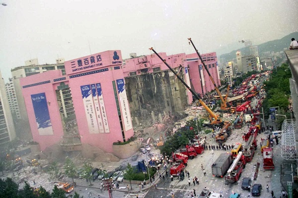 Memories of Sampoong Collapse to Be Collected to Look Back on Past of Korea