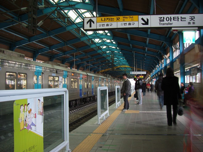 Seoul subway station (image: Wikipedia)